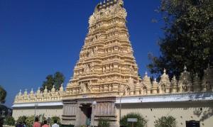 Hindu-tempel bij Mysore Palace