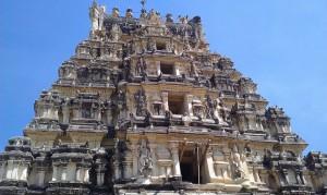 Hindu-tempel, Chamundi Hill, Mysore